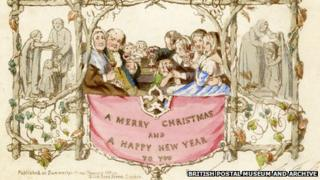 Card image courtesy of The British Postal Museum and Archive
