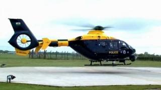 South Wales Police helicopter