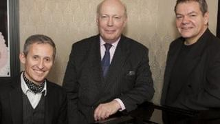 George Stiles, Julian Fellowes and Anthony Drewe