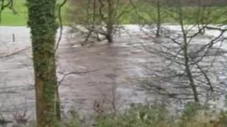 The River Nidd at Summerbridge in Nidderdale
