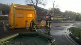 Wildern School chlorine leak