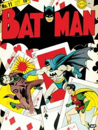 Issue 11 cover of Batman
