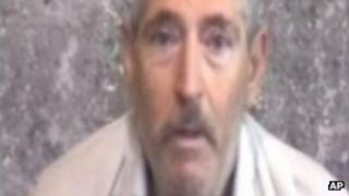 Hostage video of Robert Levinson