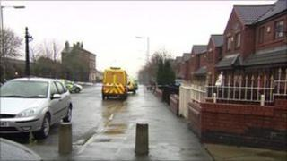 Scene of stabbings in Toxteth, Liverpool