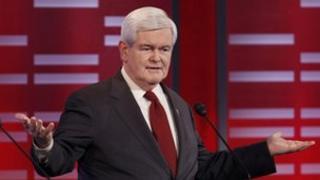 Newt Gingrich in Iowa Republican debate (11 December 2011)