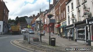 Ashbourne town centre