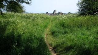 Tewkesbury view