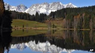Wilder Kaiser, Austria (AP)