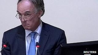 Tom Crone speaking at the Leveson Inquiry