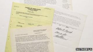 Apple founding documents