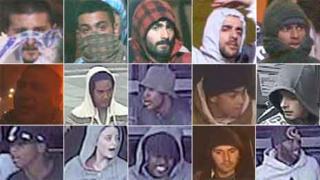 Riot suspects