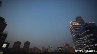 Financial district of Beijing