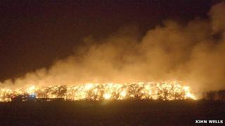 Fire in Cambridgeshire