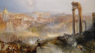 Turner's 1839 masterpiece Modern Rome - Campo Vaccino