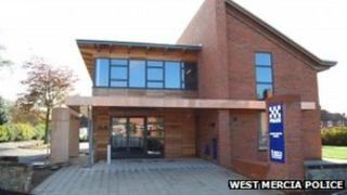 The new station. Photo: West Mercia Police
