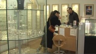 Jewellery shop in Bristol