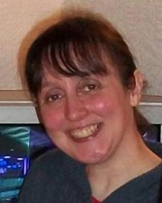 Lynne Small's body was found at her home in Thornliebank