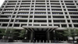 IMF headquarters in Washington
