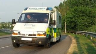 A 1st Response Medical Services Ltd ambulance