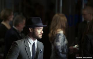 Jude Law in London
