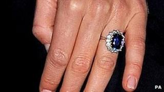 Duchess of Cambridge engagement ring
