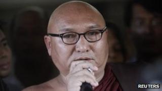 Burmese monk Shwe Nya War Sayardaw