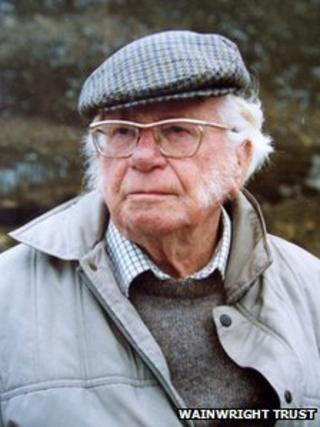 Alfred Wainwright. Photo: The Wainwright Trust