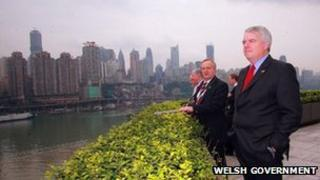 Carwyn Jones in China