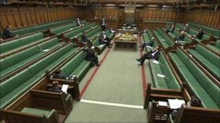 MPs at expenses debate