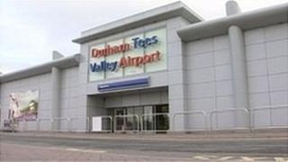 Durham Tees Valley Airport terminal
