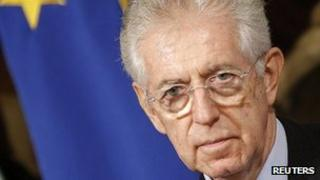 Mario Monti (file image)