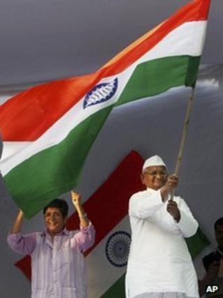 Anna Hazare in Delhi, 11 Dec