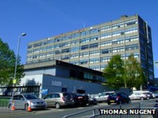James Watt College - pic by Thomas Nugent/ Geograph