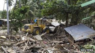Homes in Iligan devastated by storm