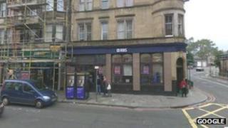 Royal Bank of Scotland in Home Street in Edinburgh