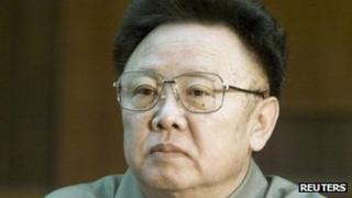 Former North Korean leader Kim Jong-il file picture