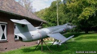 Model of Starfighter at museum