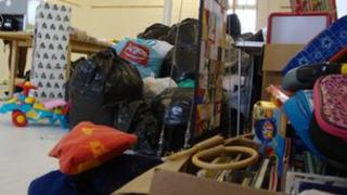 Donations at the Home Grown Crafts shop in Harwich