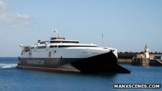The Manannan Fast Craft vessel courtesy Manxscenes.com
