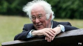 Seamus Heaney, pictured in 2006