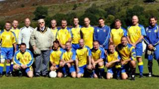 Cwmaman Institute FC. Pic: Shaun Rees