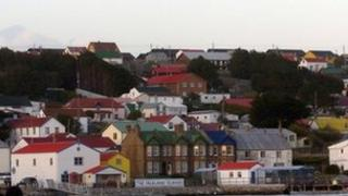Stanley in the Falkland Islands