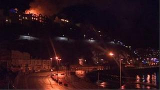 Torquay hotel fire