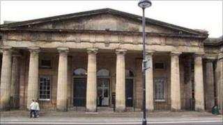 Perth Sheriff Court. Pic: Crown copyright