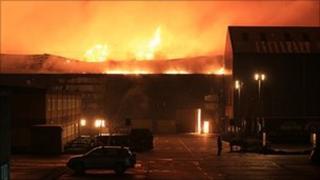 Leyland fire