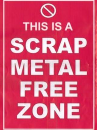 Front of leaflet