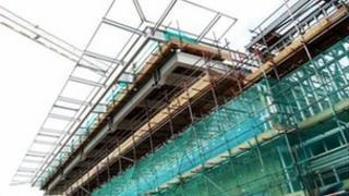 Helipad construction