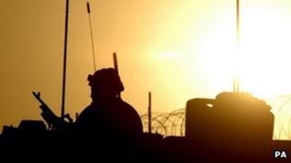 A Royal Marine in Afghanistan