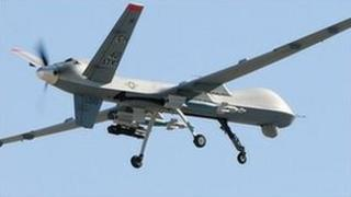 An unmanned aerial vehicle (generic)