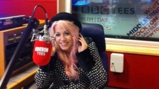 Amelia Lily in BBC Tees